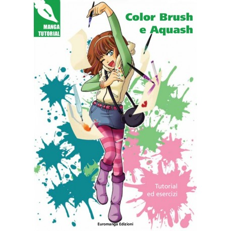 Manga Tutorial: Color Brush e Aquash